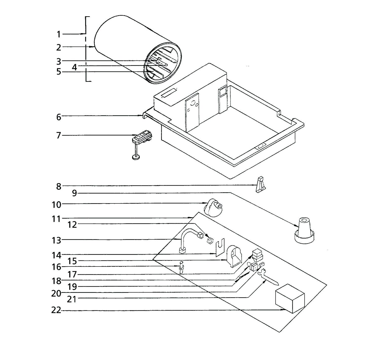 models 747 747l series drum humidifiers shop air cleaner Skytrak 6036 Parts Diagram 747 747 l parts drawing