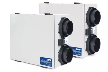 Heat Recovery Ventilators - Energy Recovery Ventilators - Whole House Residential Systems - General Filters - 3260