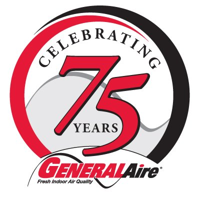 General Filters, Inc. Celebrates 75 Years! - Stay in touch with generalaire by reading the latest news, announcements and articles with general filters - 75banner_GeneralAire