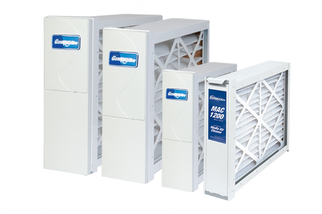 Whole House Residential Air Cleaner Systems - General Filters - MAC-Group