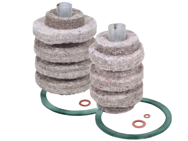 2A-710BG 10-Micron Wool Felt Replacement Cartridges With BioGasket™