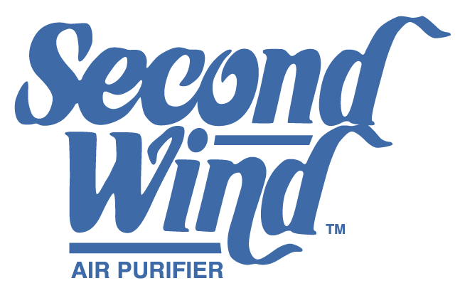 Second Wind UV Air Purifier Parts - General Filters, Inc. - SECOND-WIND-LOGO-VECTOR-UPDATED-BLUE-2020-WEB-DEVICE