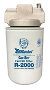11V-R2000 Gar-Ber Spin-On Fuel Oil Filter With Water Block