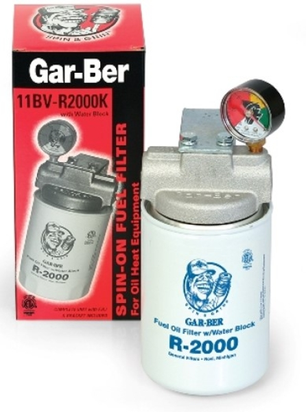 11BV-R2000K Spin-On Fuel Oil Filter With Water Block