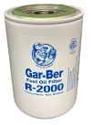 R2000 Spin-On Fuel Oil Filter With BIOGasket™ & Water Block