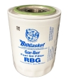 RBG Epoxy-Coated Spin-On Fuel Oil Filter With BIOGasket