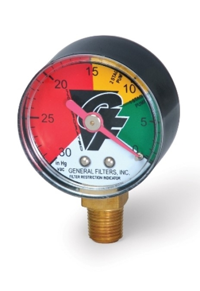 Filter Restrictor Indicator (Gauge)